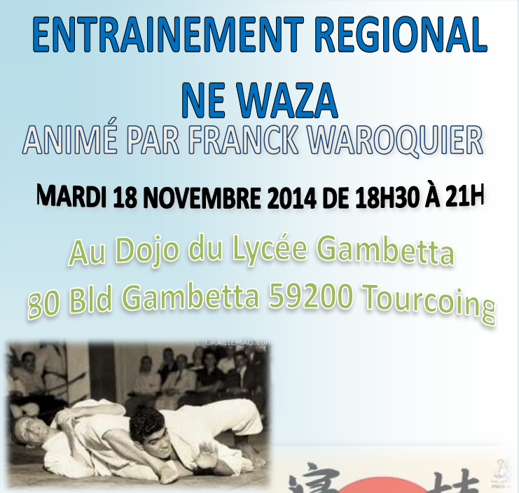 Entrainement ne Waza novembre 2014